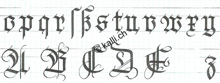 Gotische Schrift