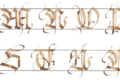 Gotische Zierbuchstaben